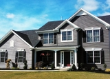 Advantage II Home Design with Grey Siding