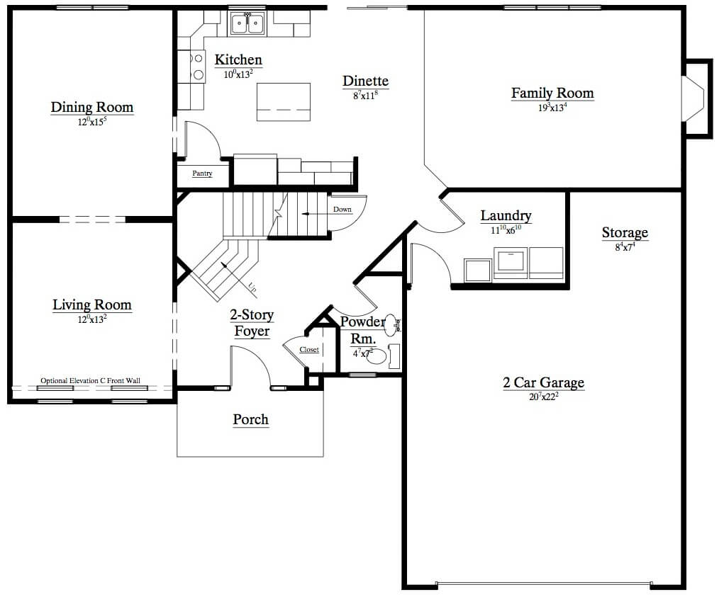 Marrano patio home floor plans for Patio house plans