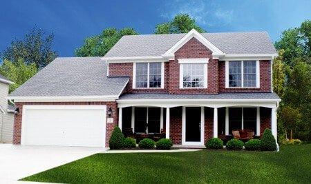 Advantage IX Home Design with Red Brick