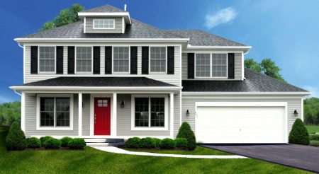 Single Family Home Design- Lexington II