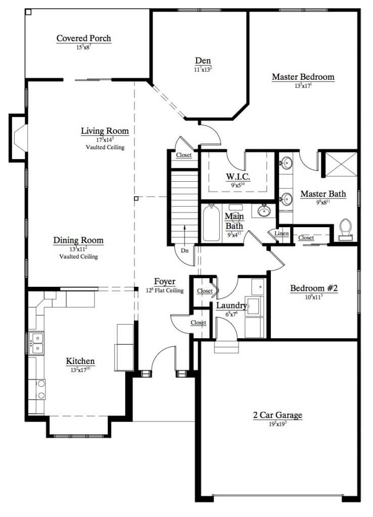 Marrano patio home floor plans for Patio home floor plans free