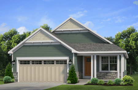 Patio Home New Home Floor Plan - Windstone at 11-Raine-Drive, Amherst, NY 14221