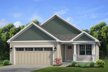 Patio Home New Home Floor Plan - Windstone at 224-Northill-Drive Amherst, NY 14224