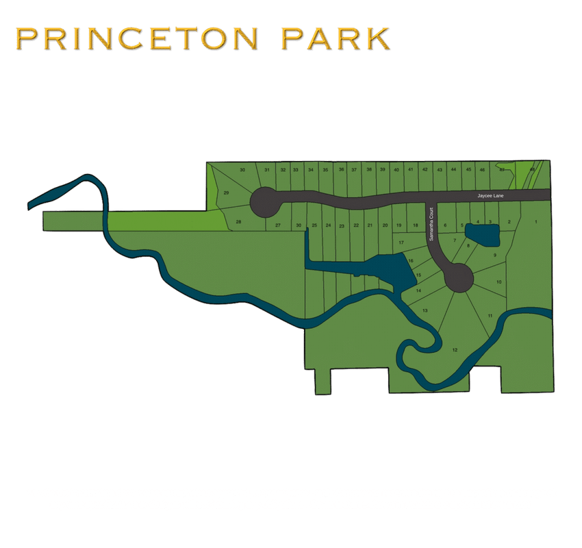 NEW HOME COMMUNITY WEST SENECA NY PRINCETON PARK MAP