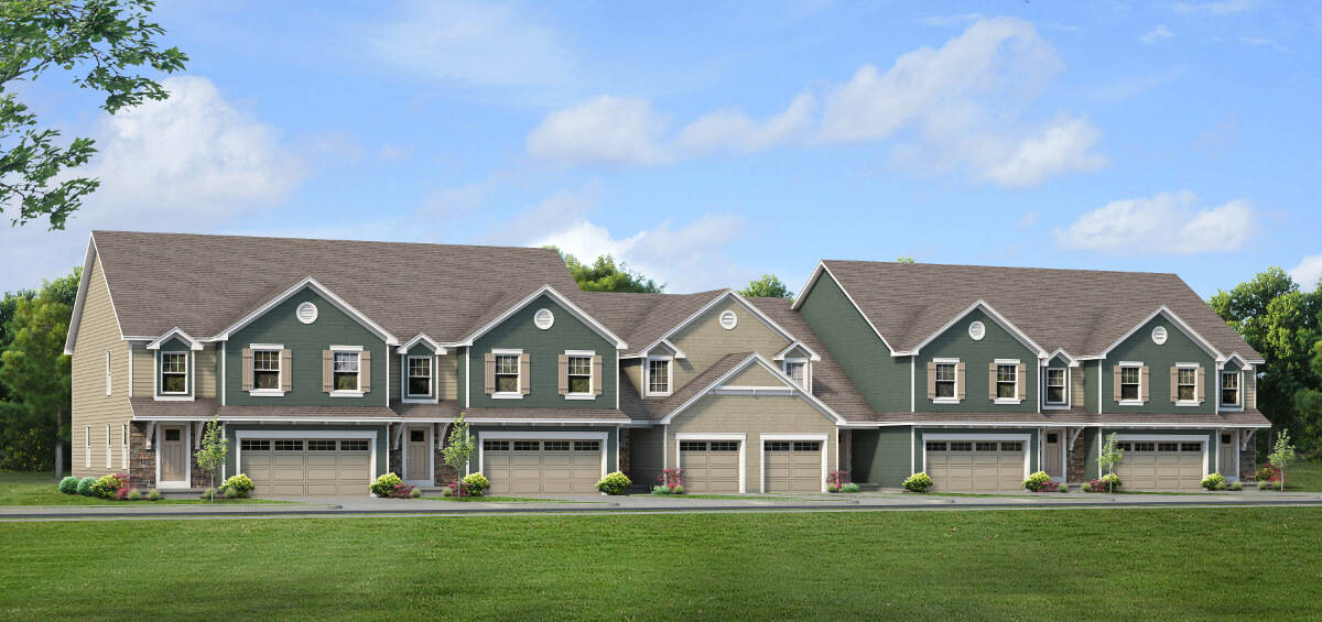 New Townhome Design Windstone Townhomes in Williamsville, NY