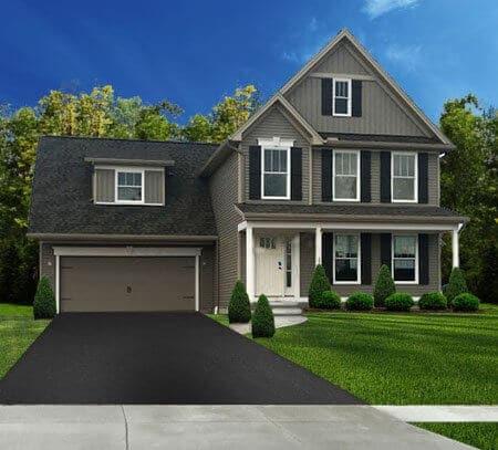 Single Family Home Floor Plan 2343 Burbank