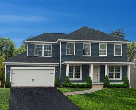 Single Family Home Floor Plan - Lexington II 2347-Burbank