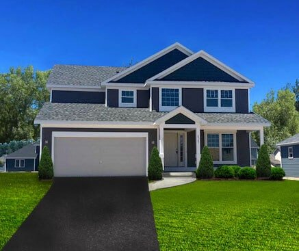 Single Family Home Floor Plan 2349 Burbank Drive