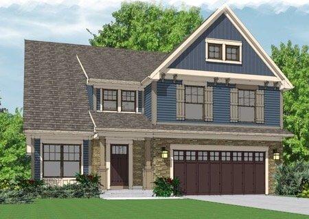 Single Family Home Floor Plan 5407 Briannas Nook
