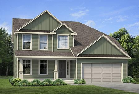 Single Family Floor Plan Home Design - Discovery IX - 171 Chery Laurel Lane, Amherst, NY