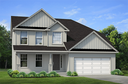 Single Family Floor Plan Home Design - Discovery IX 172 Rachel Vincent Way-450