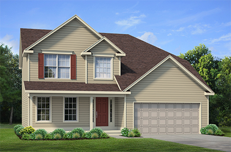 Single Family Home Floor Plan - Discovery IX - 94 Rachel Vincent Way, Buffalo, NY