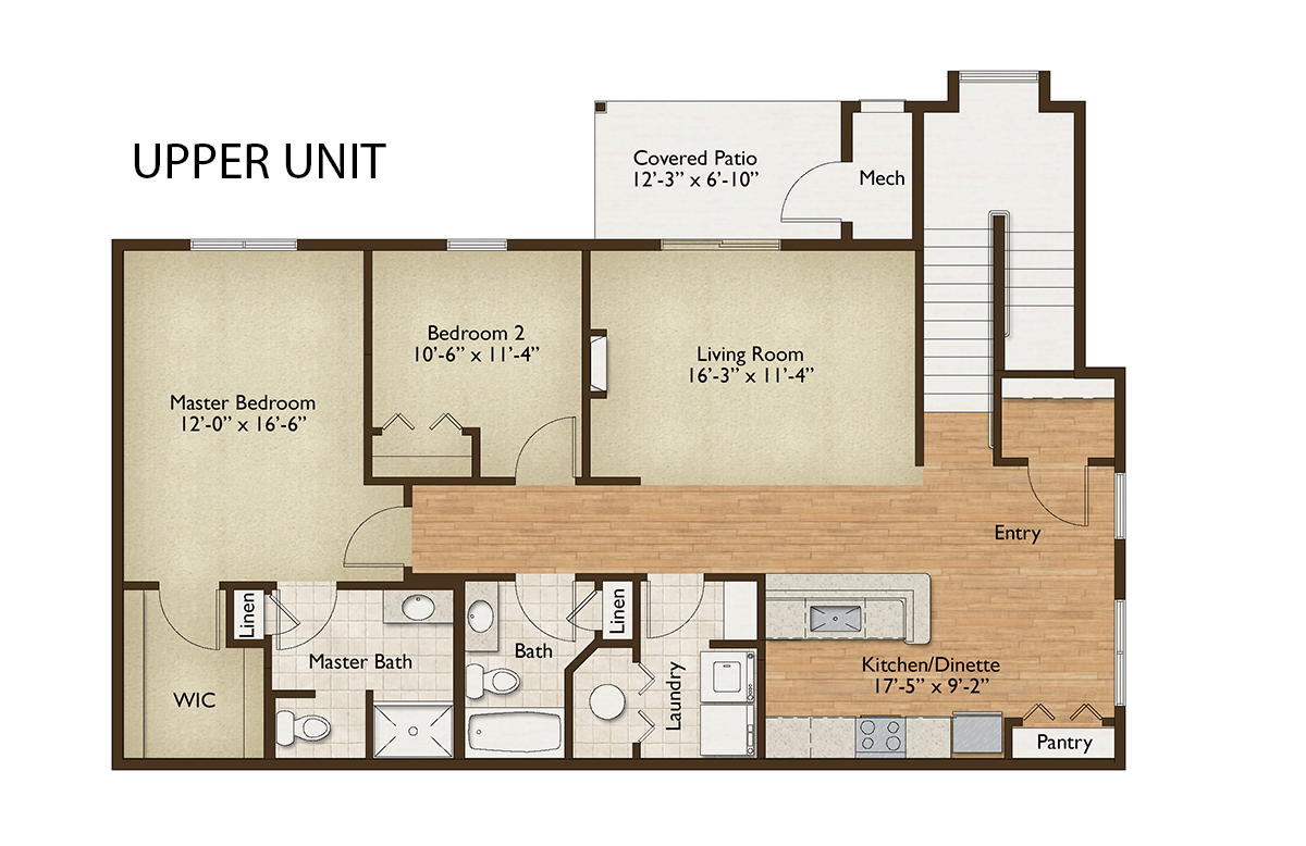 Condominium Home Floor Plan Design Amherst, NY