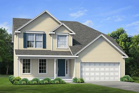 New Home Single Family Floor Plan - 124-Avian-Way, Lancaster, NY
