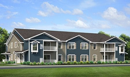 New Home Condo Villa Floor Plan - Windstone Amherst, NY